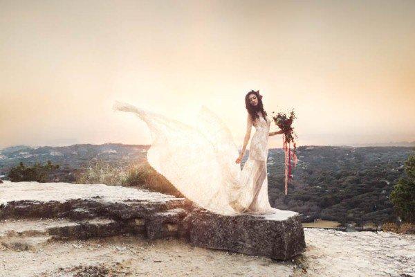 A TEXAS TAKE ON BOHEMIAN WEDDING STYLE AT LAGUNA GLORIA